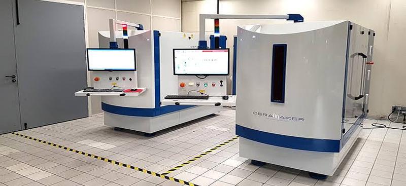 Ceramic 3D Printer Platform ..