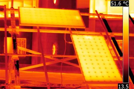 Tests de modules Photovoltaïques
